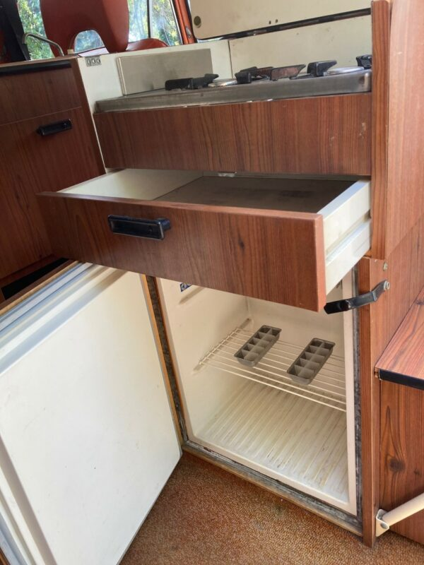meuble frigo camping car Westfalia