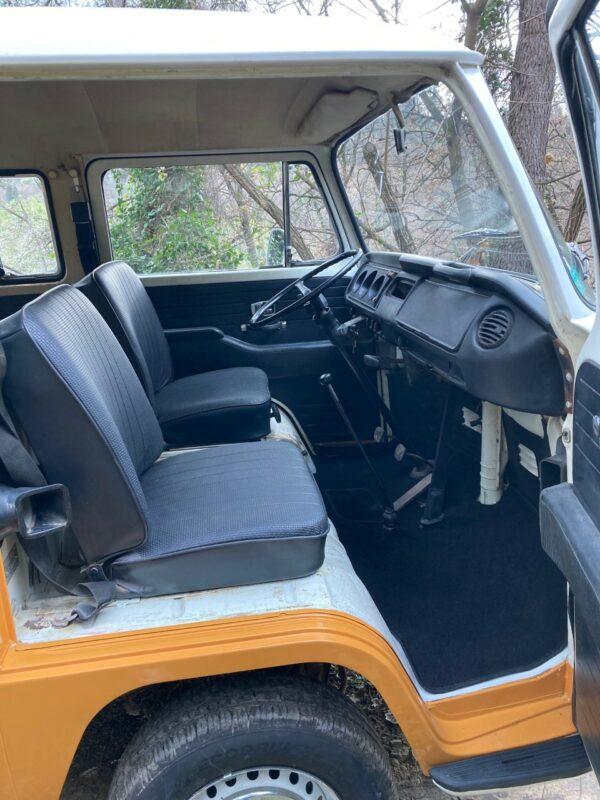 siège avant VW Combi Deluxe 1971