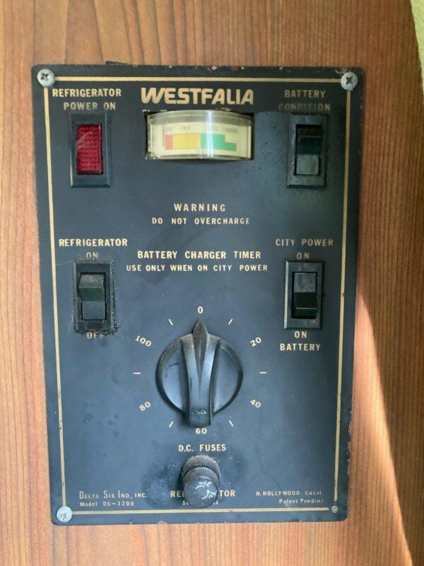 élecrticité combi aménagé vintage