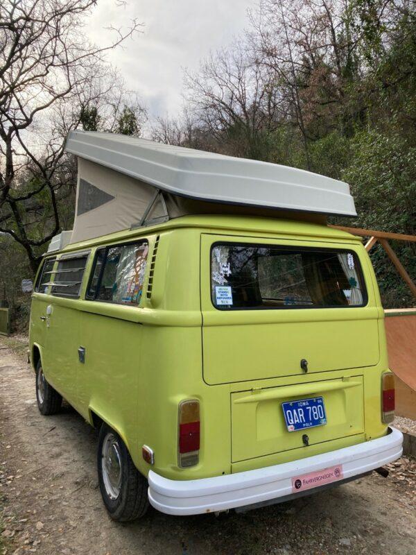 van vintage campeur Westfalia