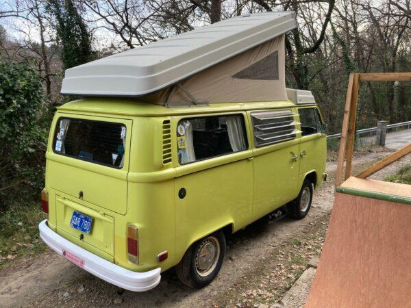 van camping car Westfalia