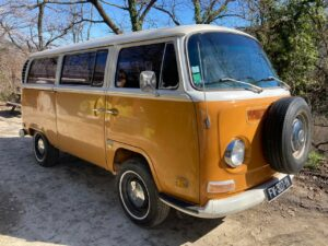 camping car aménagé 1971