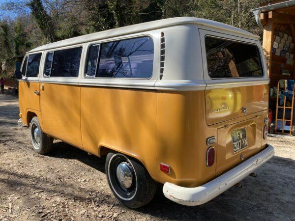 camping car vw combi 1971