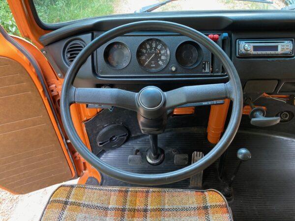 poste de conduite van vintage 1978