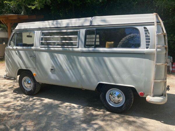 échelle de toit vintage vw camping car