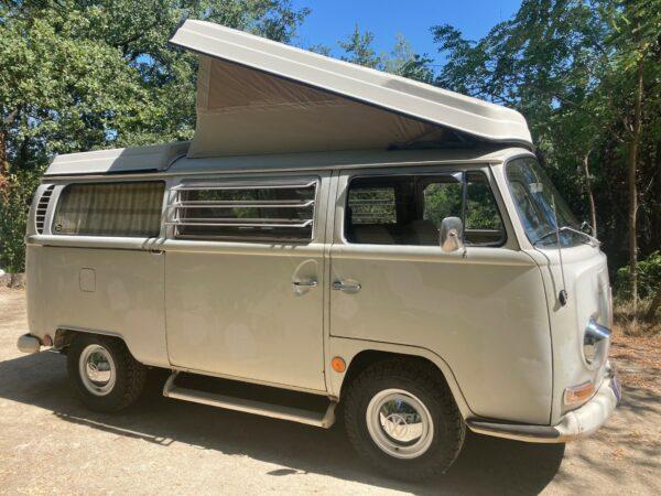 van vintage vw camping