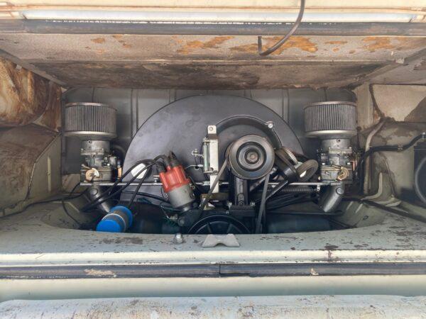 moteur vw double carburateur