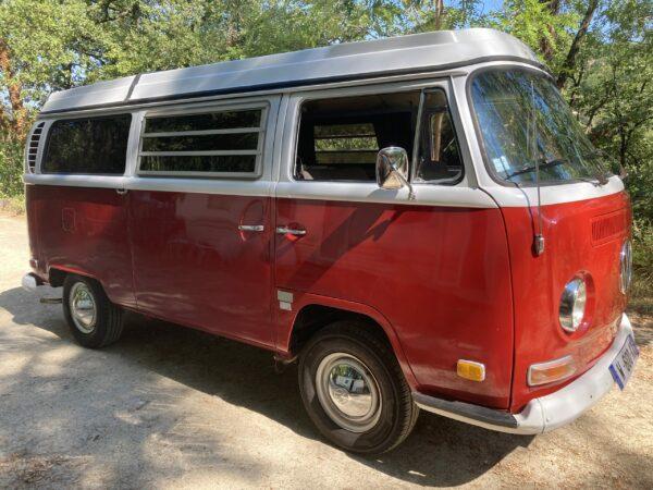 van camping car vw combi
