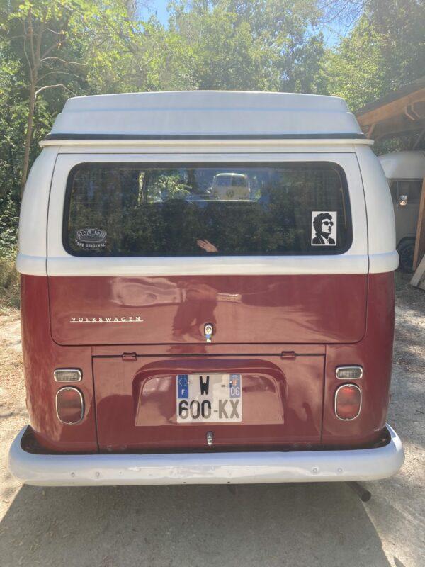 arrière du combi VW