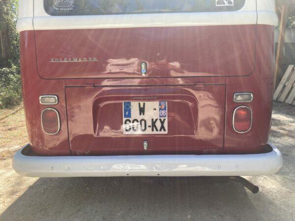 capot moteur combi westafalia 1969