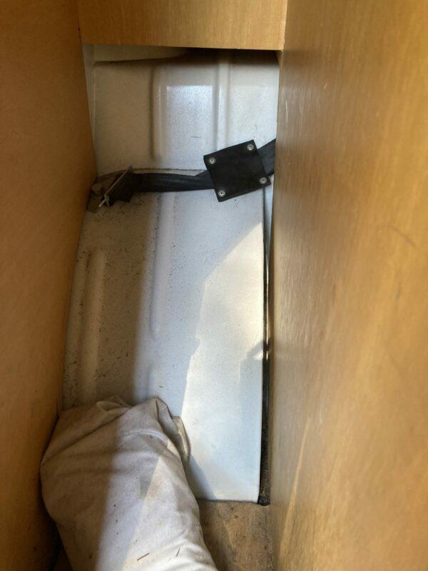 coffre sous le lit de van vw
