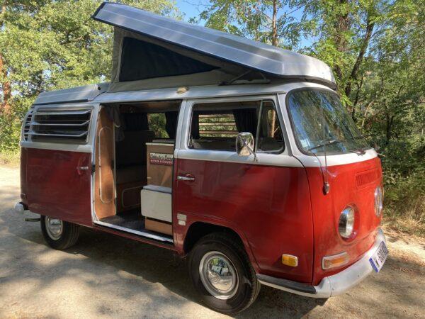 van camping vw combi