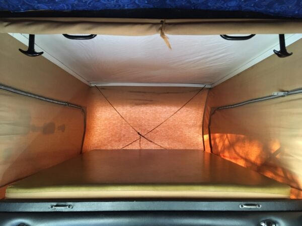sportsmobile couchage toit vw camping car