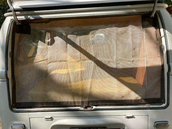 moustiquaire arrière wesfalia combi aménagé