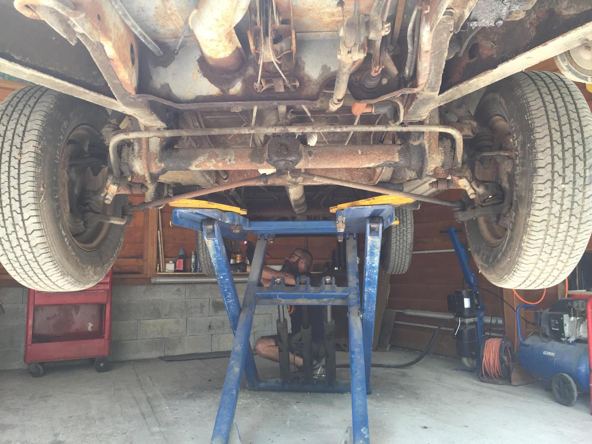 suspension avant combi T2